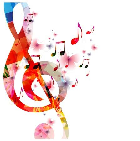 35405850 colorful music background